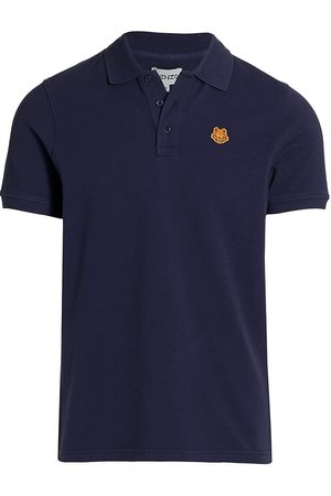Kenzo Men's Tiger Crest Polo Shirt - - Size Large