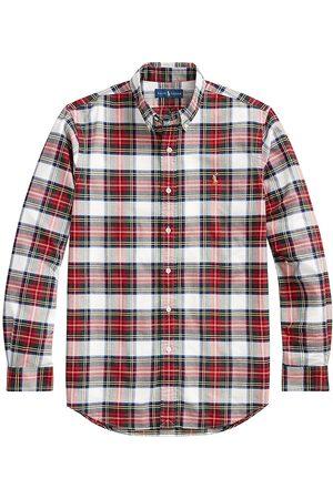 Polo Ralph Lauren Men's Plaid Oxford Shirt - - Size XL