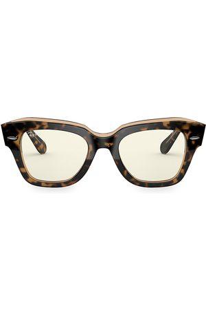 Ray-Ban Women's 49MM Polarized Square Sunglasses