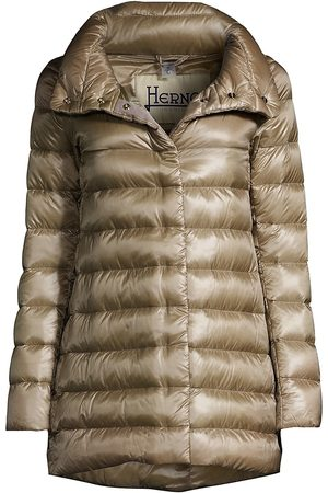 HERNO Women's Classic Funnelneck Puffer Jacket - - Size 48 (12)
