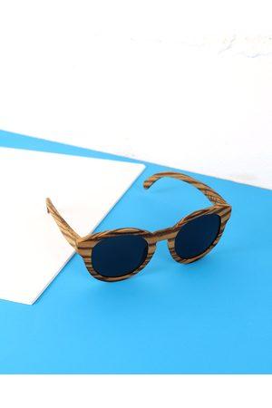 Blaiz Light Wood Sunglasses