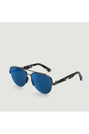 Retrosuperfuture Air Blue Mirror Sunglasses