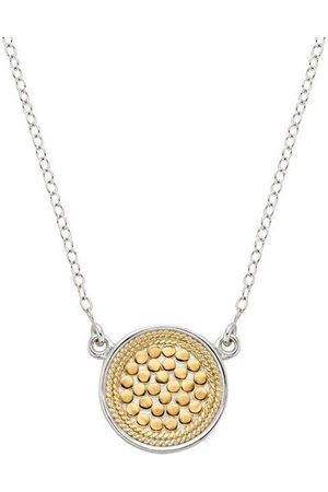 Anna Beck Reversible Disc Necklace - Gold &