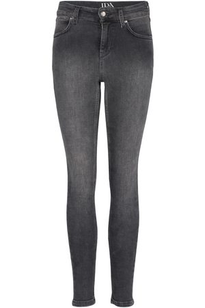 DONNA IDA Women High Waisted - Rizzo High Top Ankle Skinny Jeans - Planetary