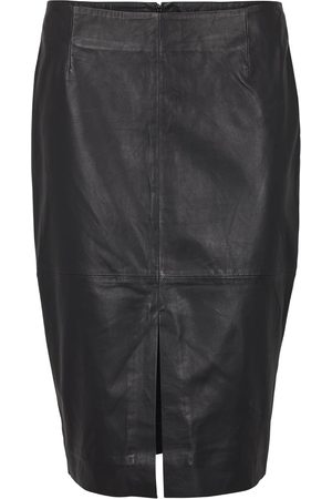 Second Female Women Leather Skirts - Lione Leather Skirt
