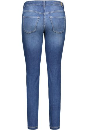 Mac Dream Skinny Jeans in Mid Authentic Wash