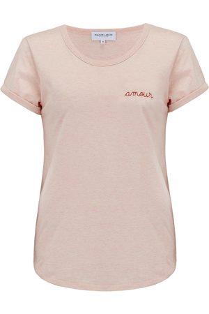 Maison Labiche Women T-shirts - Amour Tee - Heather Pink
