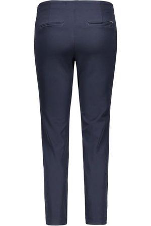 Mac Anna Zip Slim Fit Trousers in Dark