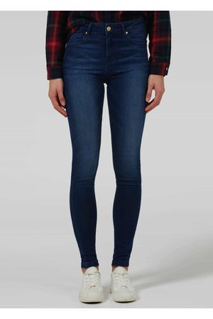 DONNA IDA Rizzo High Top Ankle Skinny Jeans - Fawcett