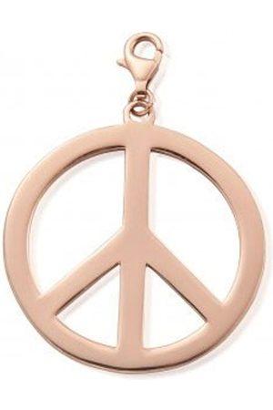 ChloBo Large Peace Pendant - Rose