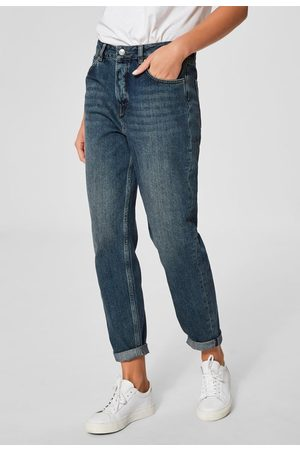 Selected Frida Mom Mid Jeans