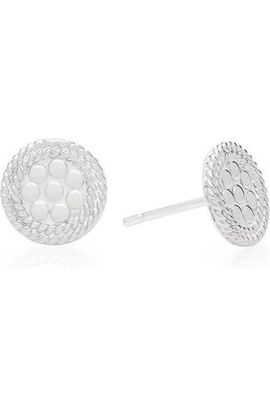 Anna Beck Tiny Circle Stud Earrings