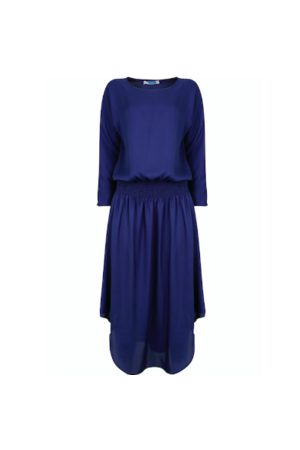 Jane Says Plain Jane Midi Dress - Midnight