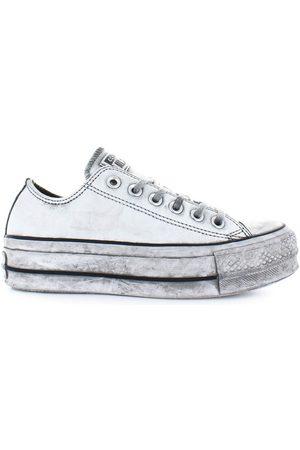 Converse Women Platform Sneakers - ALL STAR PLATFORM SMOKE IN SNEAKER 37