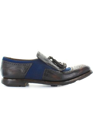 Church's CHURCHS SHANGHAI 11 EBONY NAVY MOCCASIN 40