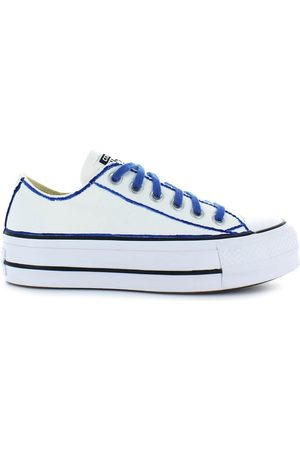 Converse Women Platform Sneakers - ALL STAR PLATFORM /BLUE SNEAKER LTD ED 36