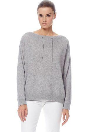 360CASHMERE Iris Sweater - Heather Grey