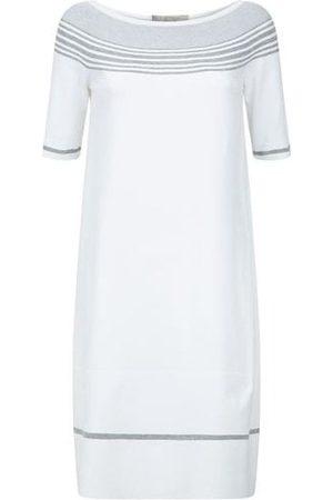 D.EXTERIOR Womens DExterior 48210 Lurex Stripes Shift Dress in