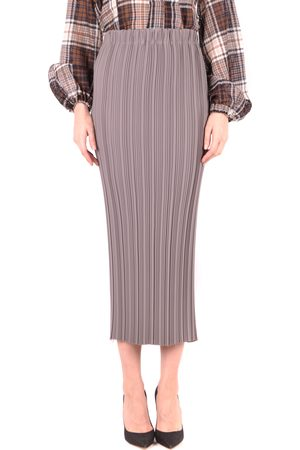 ALYSI Pencil Skirt in Grey