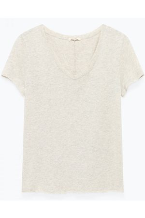 American Vintage Sonoma Short Sleeve Grey T-Shirt