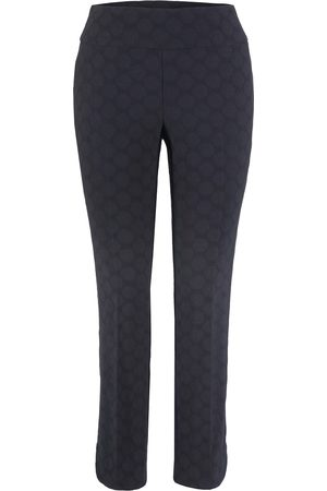 Up Pants Up! Pants 66250 Tulip Edge Trouser - Navy Circle