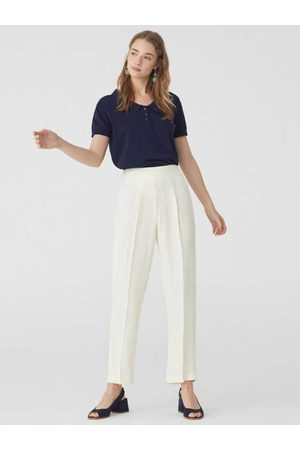 Nice Things Women Culottes - Culottes in Ecru