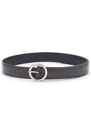 Anderson's ANDERSONS Crocodile Effect Leather Belt