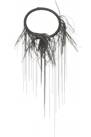 Fabiana Filippi Womens BX92719 Feathered Necklace in
