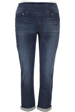 Up Pants Up! Pants 65759 Crop Trouser - Denim