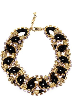 Dsquared2 CRYSTALIZED CABLE GOLD NECKLACE