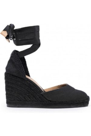 Castaner Carina 80 Canvas Sole Wedge Espadrilles