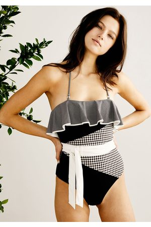 Marysia Greenport Swimsuit Multi Smores Gingham