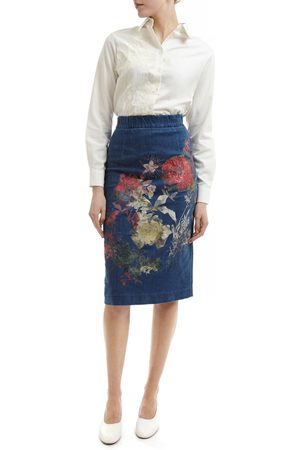 Alice Archer Betsy Embroidered Skirt