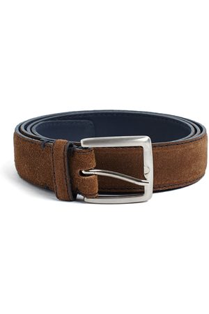 LEATHERSMITH OF LONDON Suede Belt