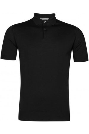 JOHN SMEDLEY 100% Merino Payton Short Sleeve Polo