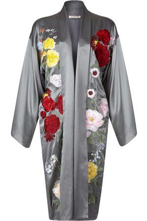 Alice Archer Feliz Short Kimono - Grey