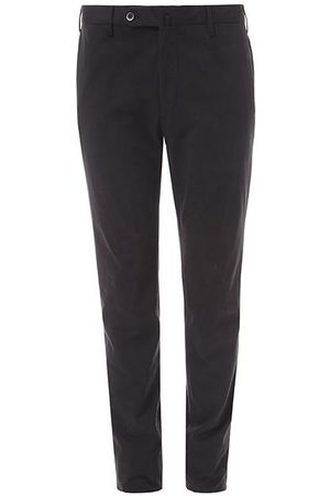 LEATHERSMITH OF LONDON Wool Flannel Trousers
