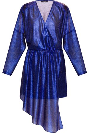 POUSTOVIT Belted Mini Dress