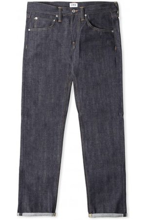 Edwin ED-55 Red Listed Selvage Denim Jeans - Unwashed