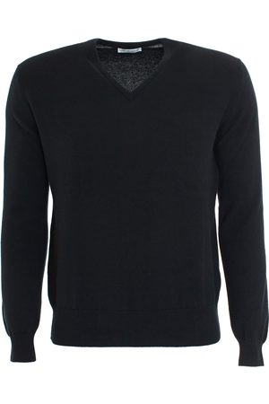 LEATHERSMITH OF LONDON Cashmere Vee Neck Sweater