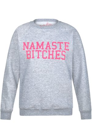 On the Rise Women Sports Hoodies - Namaste Bitches Sweatshirt