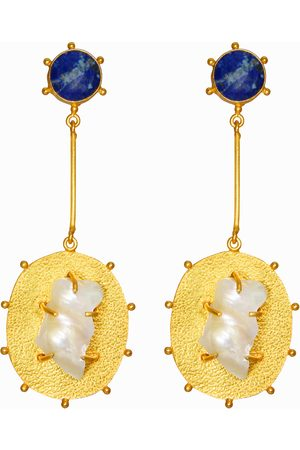 Dinari Jewels Dark Atlantic Earrings