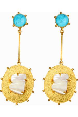 Dinari Jewels Turquoise Atlantic Earrings