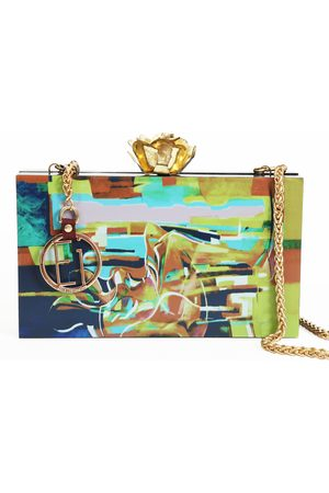 Ella Impressions GEM-ART & DESIGN CLUTCH BOX