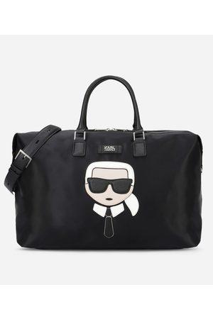 Karl Lagerfeld K/Ikonik Borsa Weekend in Nylon e Pelle