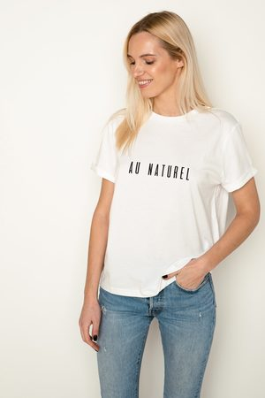 Babe Universe Organic cotton tee Au Naturel