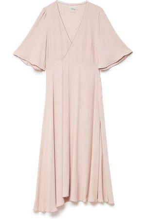 OTTOD'AME Women Midi Dresses - DA3566 Wrap Dress
