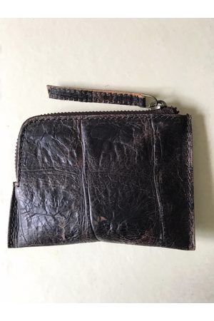 Collard Manson WDTS Brown Croc Leather Wallet