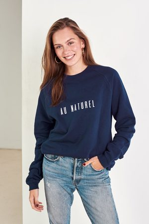 Babe Universe Navy organic cotton jumper Au Naturel