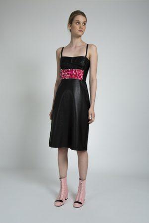 Alice Archer ELIZA Leather Dress